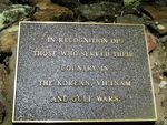 Korea Vietnam + Gulf Plaque