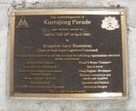 Kurrajong Memorial : 30-December-2009