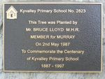 School Centenary Plaque : 22-04-2014