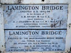 Bridge Plaques: 28-October-2015