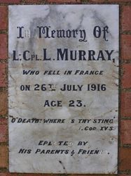 Murray Inscription : 16-October-2014
