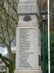 Lancefield War Memorial