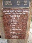 Supreme Sacrifice Plaque / May 2013