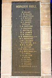 Lawson War Memorial