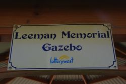 Gazebo Plaque: 19_August-2015
