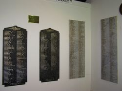 WW1 Honour Rolls: 30-October-2014