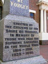 Memorial Inscription : 30-October-2014