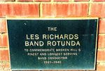 Les Richards Rotunda Inscription