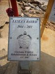 Lesley Baird : 27-October-2012