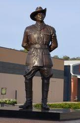 Lieutenant Albert Borella V.C. & Victoria Cross Memorial