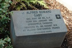 Lieutenant Alfred Edward Gaby