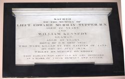 Lieutenant Edward Tupper & William Kennedy