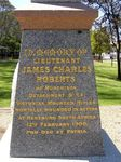 Lieutenant Roberts  Inscription: 06-November-2013