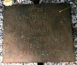 Lieutenant Kathleen Neuss