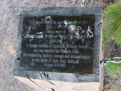 Plaque Inscription : 26-March-2015