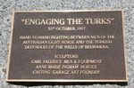 Engaging the Turks Plaque : 13-October-2012