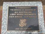 Light Horse Regiments Memorial : 26-November-2012