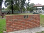 Lions Club Memorial Wall : 25-04-2014