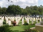 Lutwyche War Cemetery Graves / March 2013