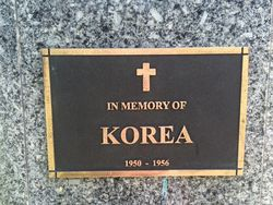 Korean War Plaque: 28-March-2016