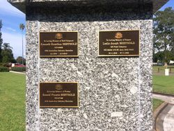 Memorial Plaques: 28-March-2016