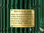 Man O War Gates Inscription 2