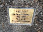 Marjorie Lawrence Plaque Inscription : March 2014