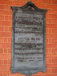 Jubilee Plaque 2 : 22-October-2014