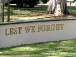 Maroochydore War Memorial Lest We Forget