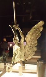 30-January-2015 : Original sculpture in the Australian War Memorial, Canberra