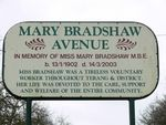 Mary Bradshaw Avenue : 02-August-2011