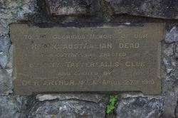 Tattersall`s Club Plaque 3 : 19-September-2014