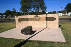 Memorial Stone and Commemorative Wall