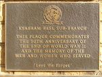 Australia Remembers Plaque : 23-04-2014
