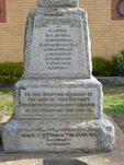 Meredith War Memorial in Wallace Street