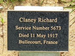 Clancy Plaque: 07-August-2015