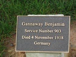 Gannaway Plaque: 07-August-2015
