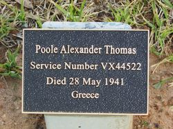 Poole Plaque : 07-August-2015