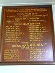 Military Museum Honour Board