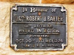 Barter Plaque : 20-December-2014