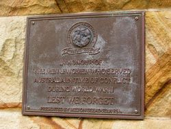 Australia Remembers Plaque : 20-December-2014