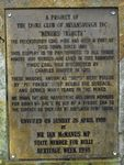 Miners Tribute Plaque