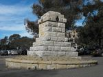 Miranda War Memorial Back View