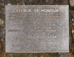 Mont Park Avenue of Honour : 10-August-2012