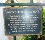 Montville Memorial Gates : 05-January-2013