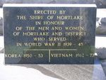 Mortlake War Memorial : 04-July-2011