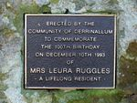 Mrs Leura Ruggles : 04-July-2011