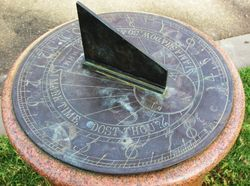 Sundial: 19-April-2016
