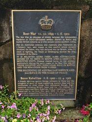 Boer War : 18-November-2014