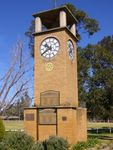 Narrabri District Soldiers Memorial : 11-August-2014